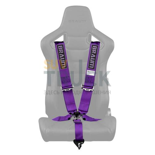 "Ремень 5-ти точечный 3"" SFI Approved Racing Harness - Purple"